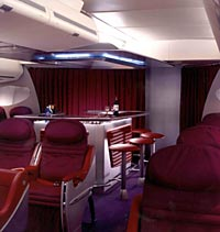 The Virgin Airlines Experience - Upper Class